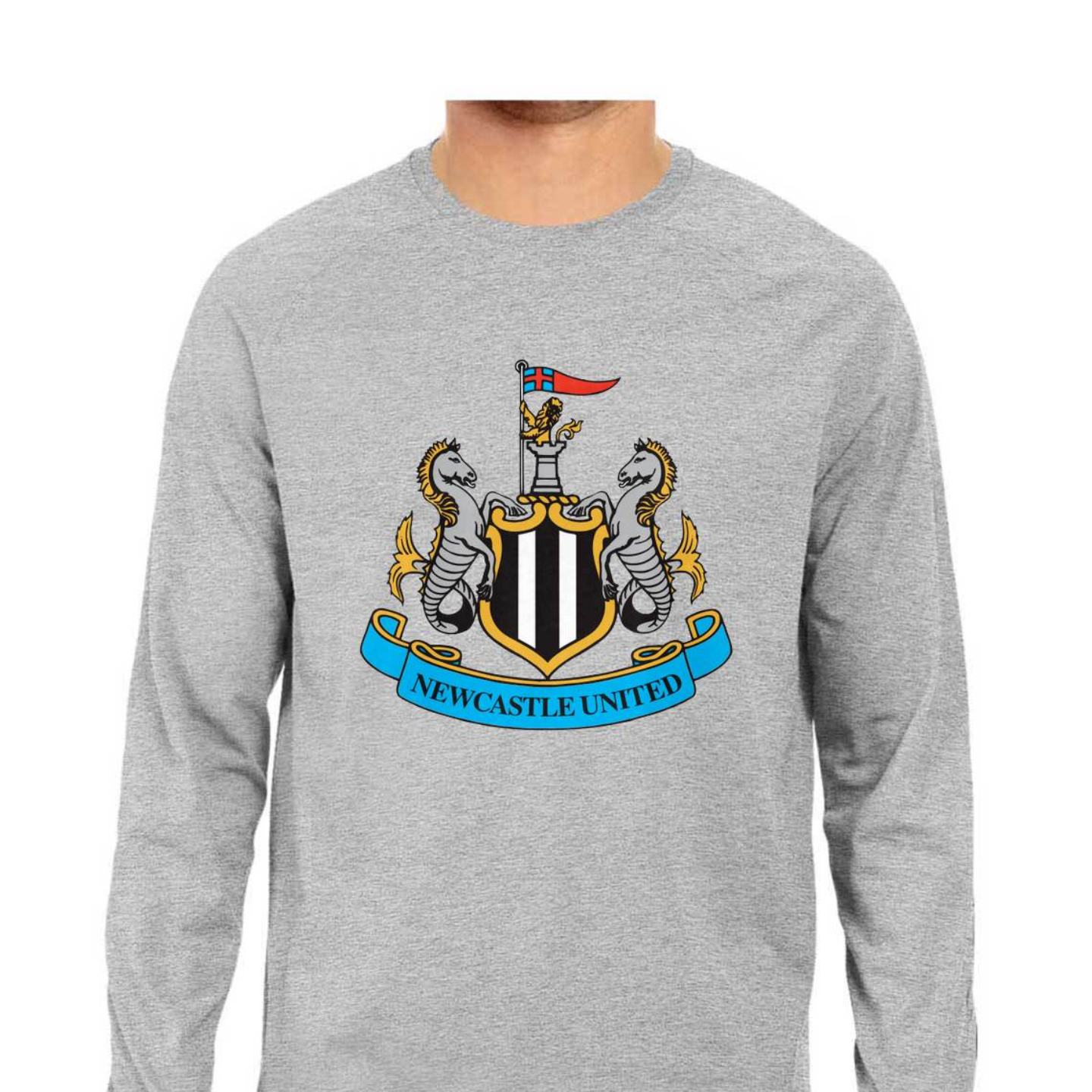 Newcastle United Full Sleeves Tshirt