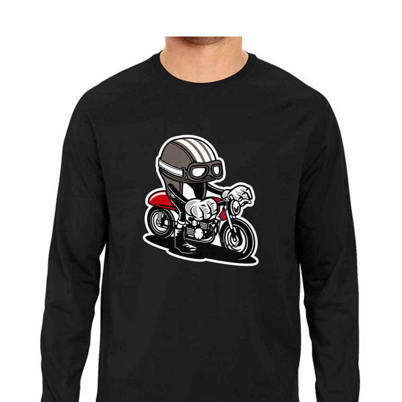 Bike Graffiti Full Sleeves Tshirt