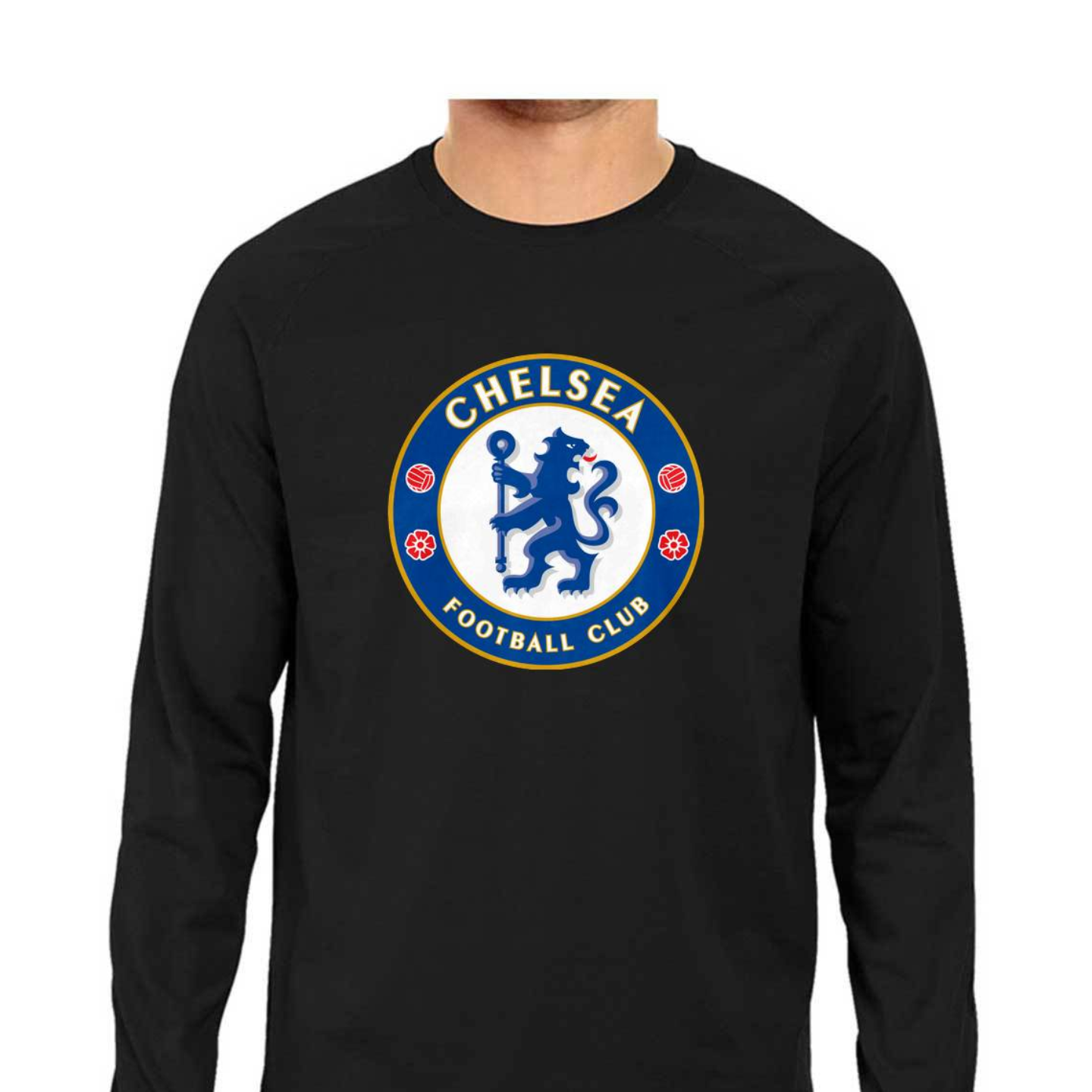 Chelsea FC Full Sleeves Tshirt