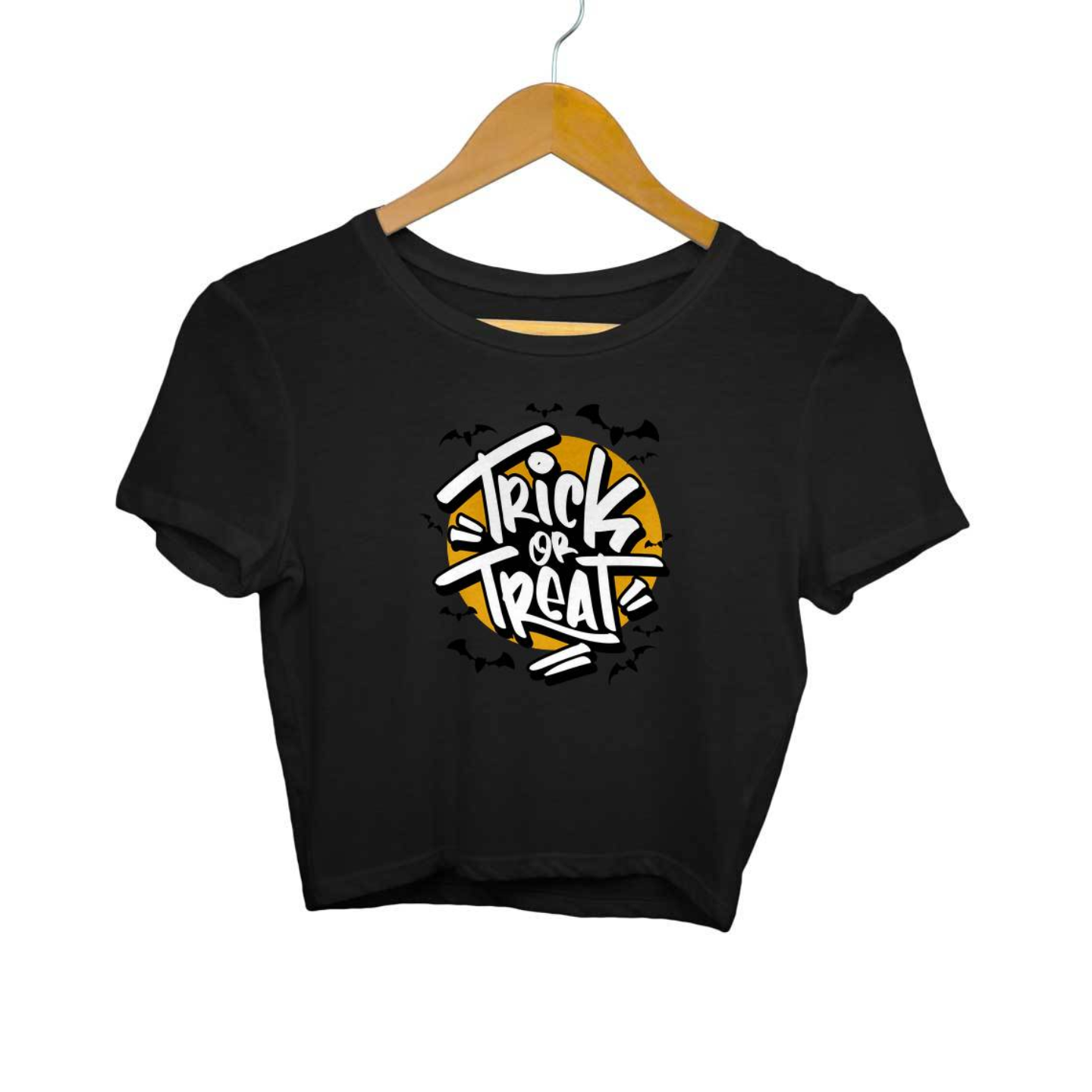 Trick Or Treat Crop Top