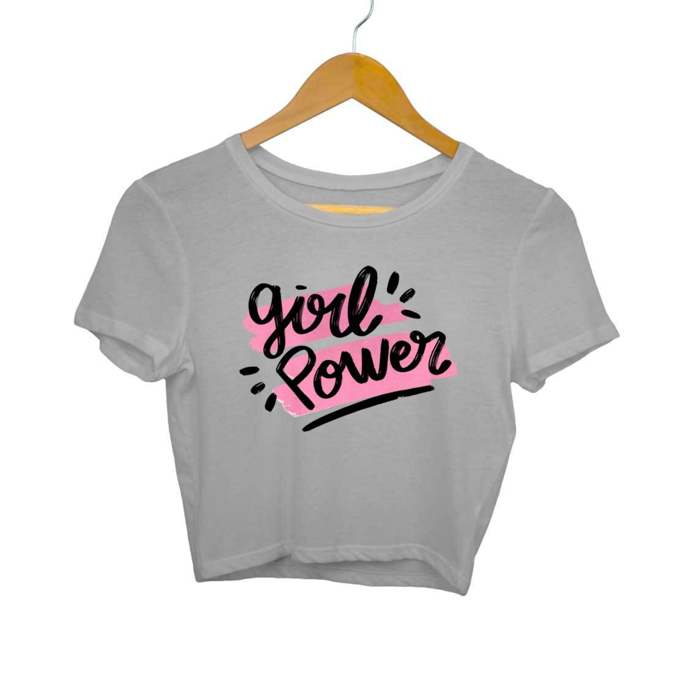 Girl Power Crop Top