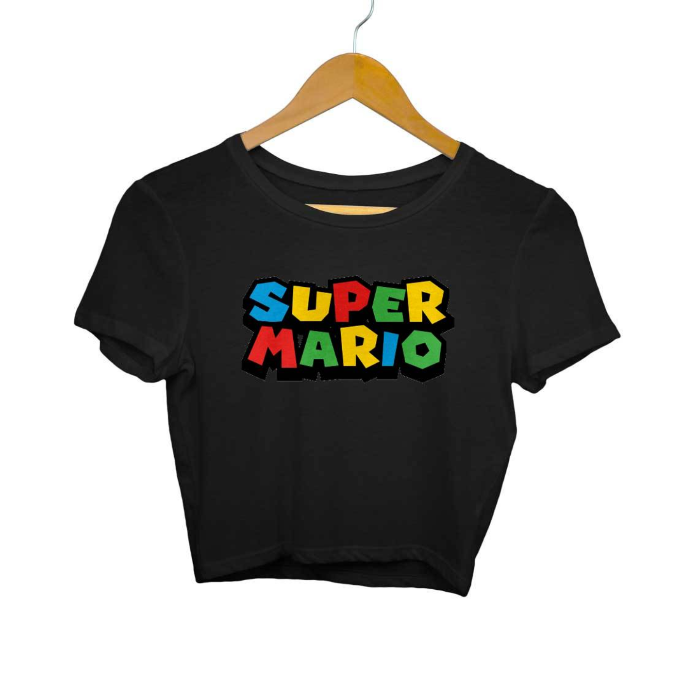 Super Mario Crop Top