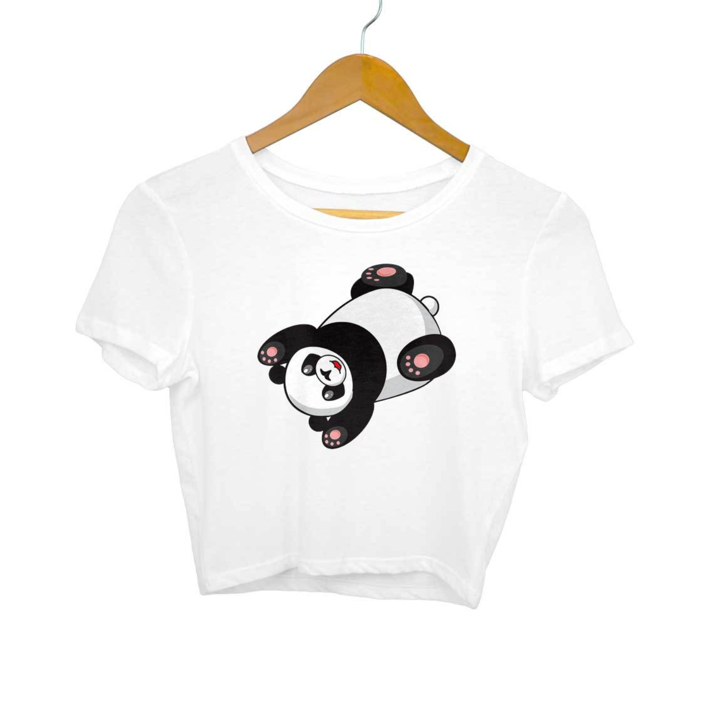 The Panda Crop Top