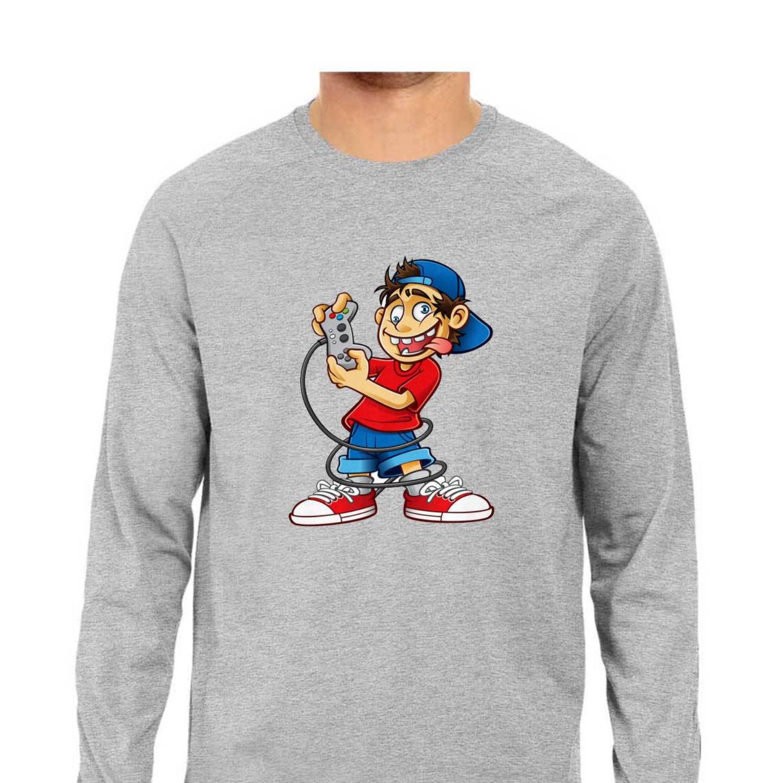 Gameboy Full Sleeves Tshirt