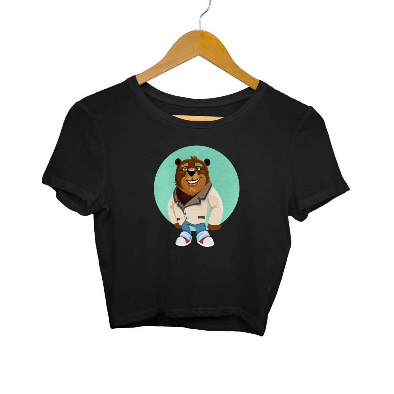 The Bear Crop Top