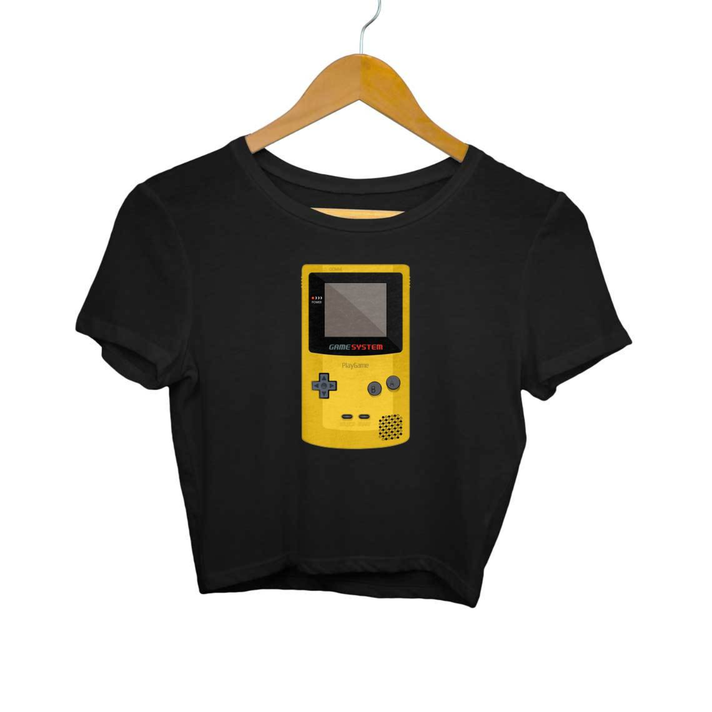 Gameboy Crop Top
