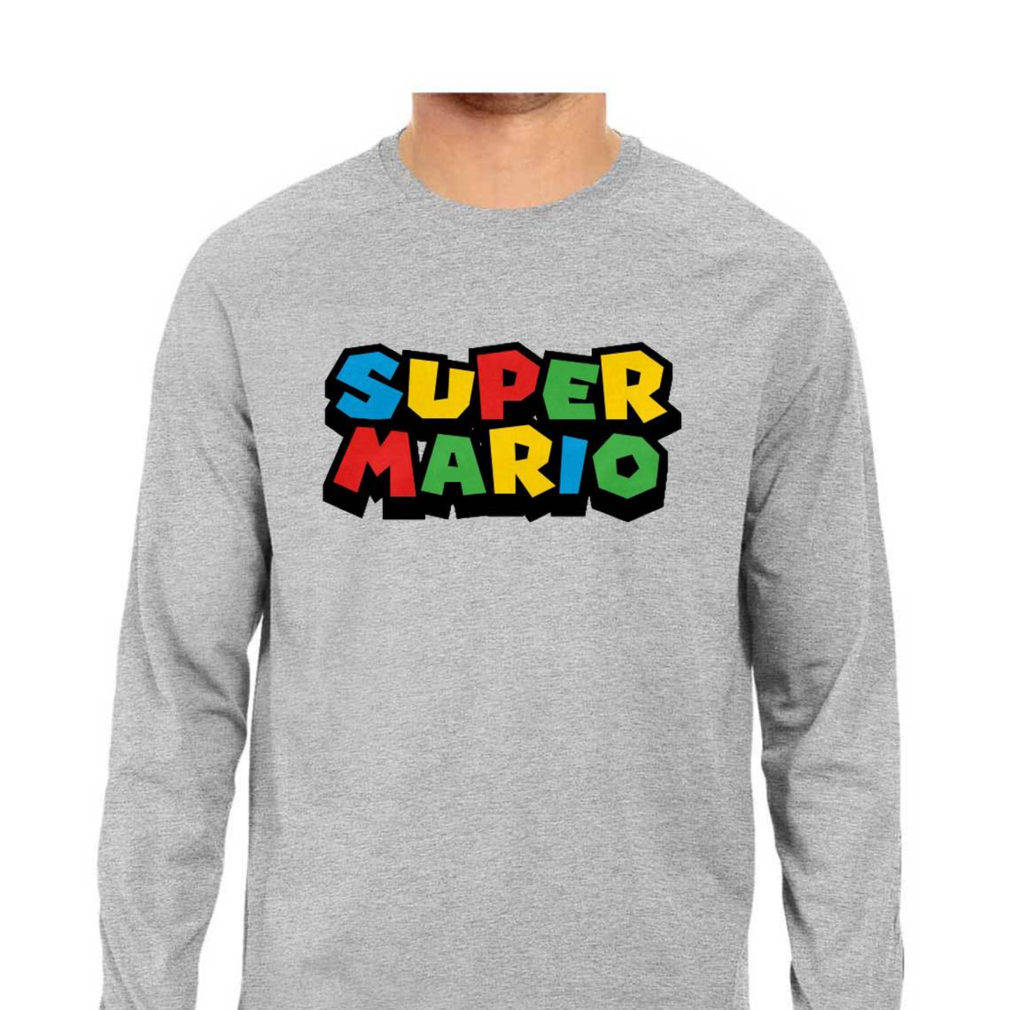 Super Mario Full Sleeves Tshirt