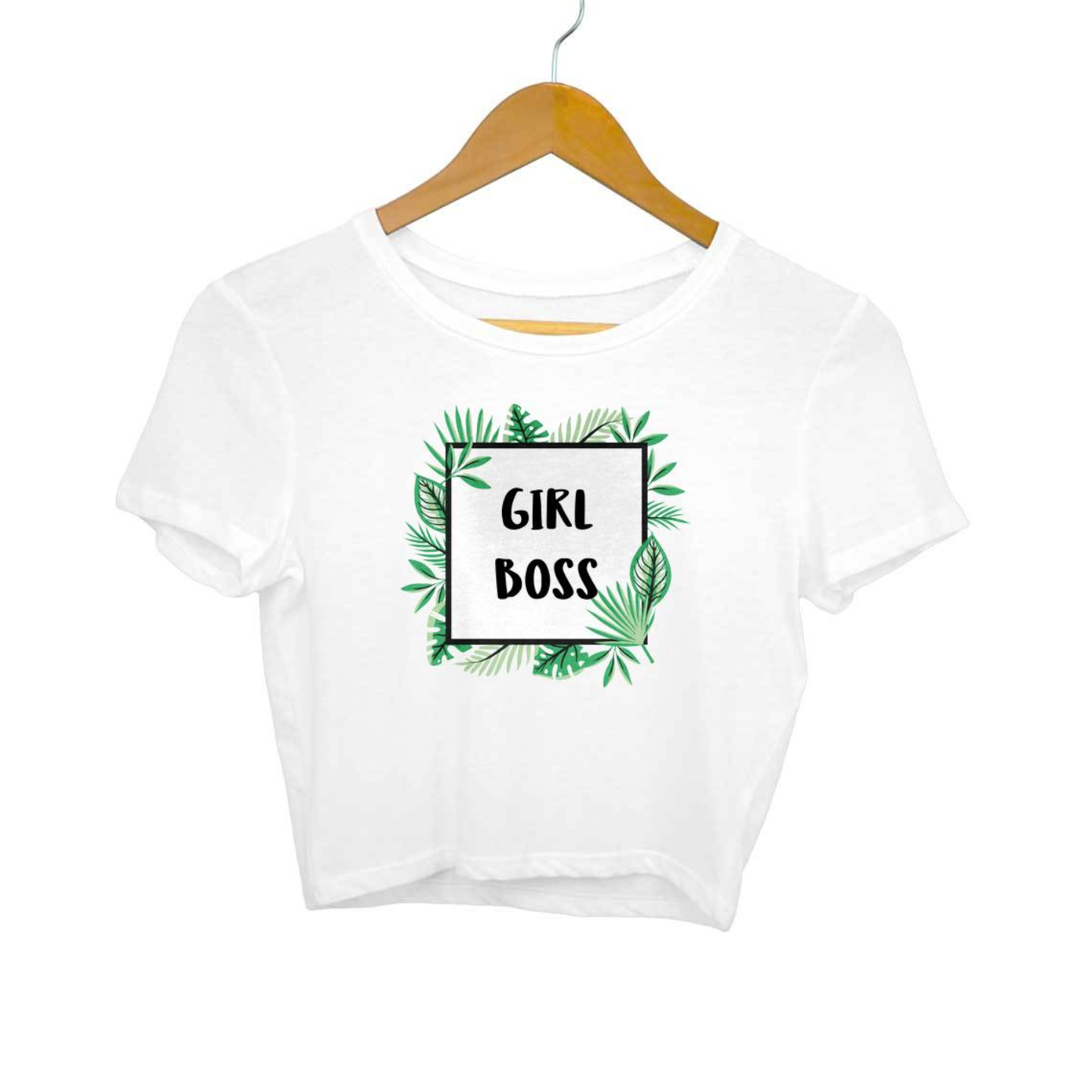 The Girl Boss Crop Top
