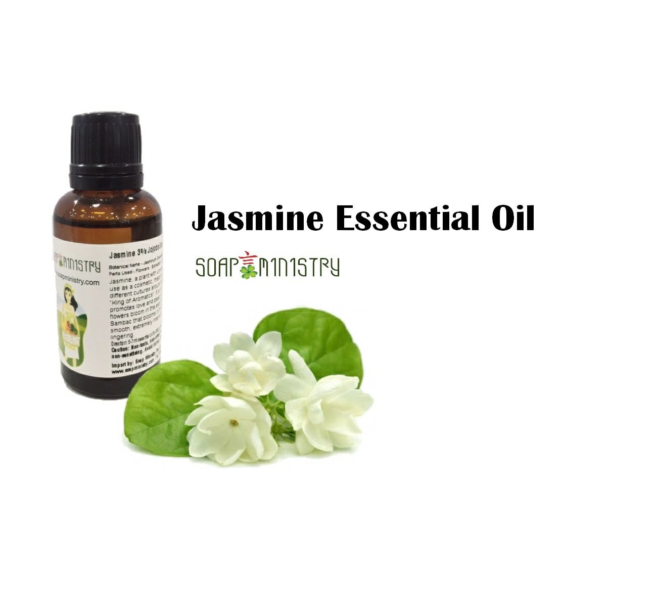 Jasmine 3% Jojoba Essential Oil 30ml