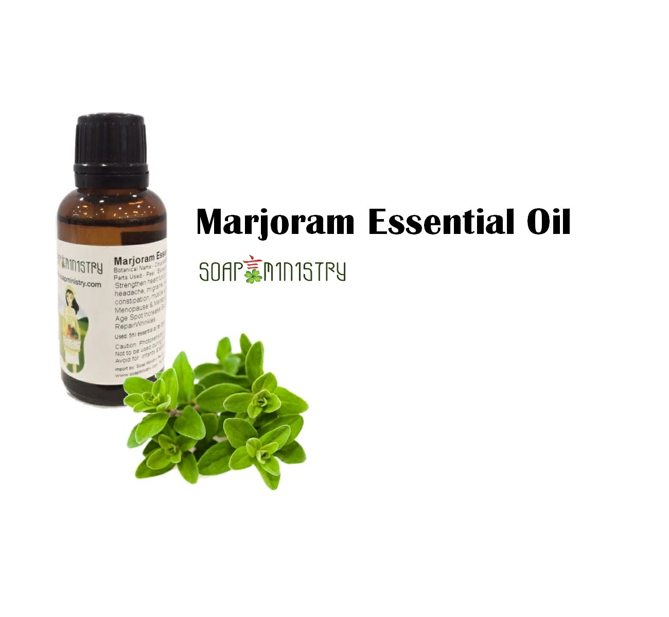 Marjoram Essential Oil 500ml