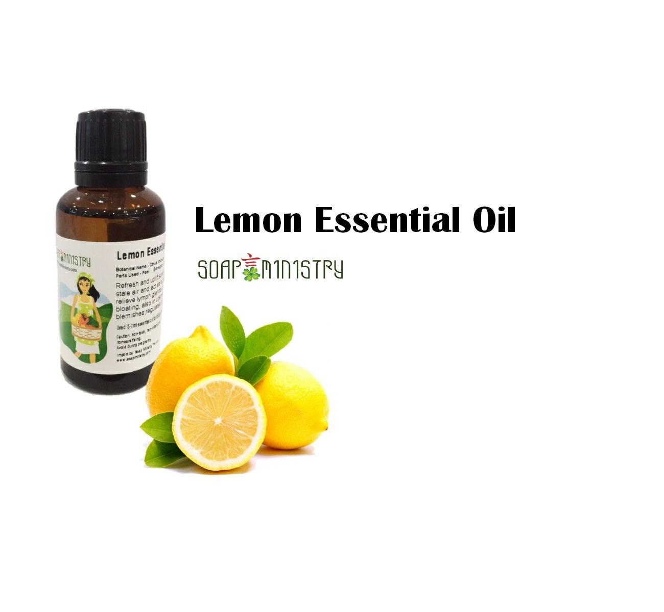 Lemon Essential Oil 30ml