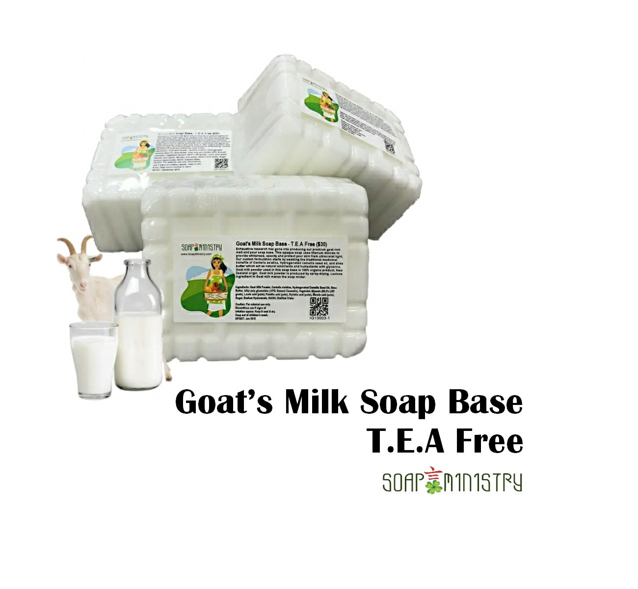 Premium Goat's Milk Soap Base