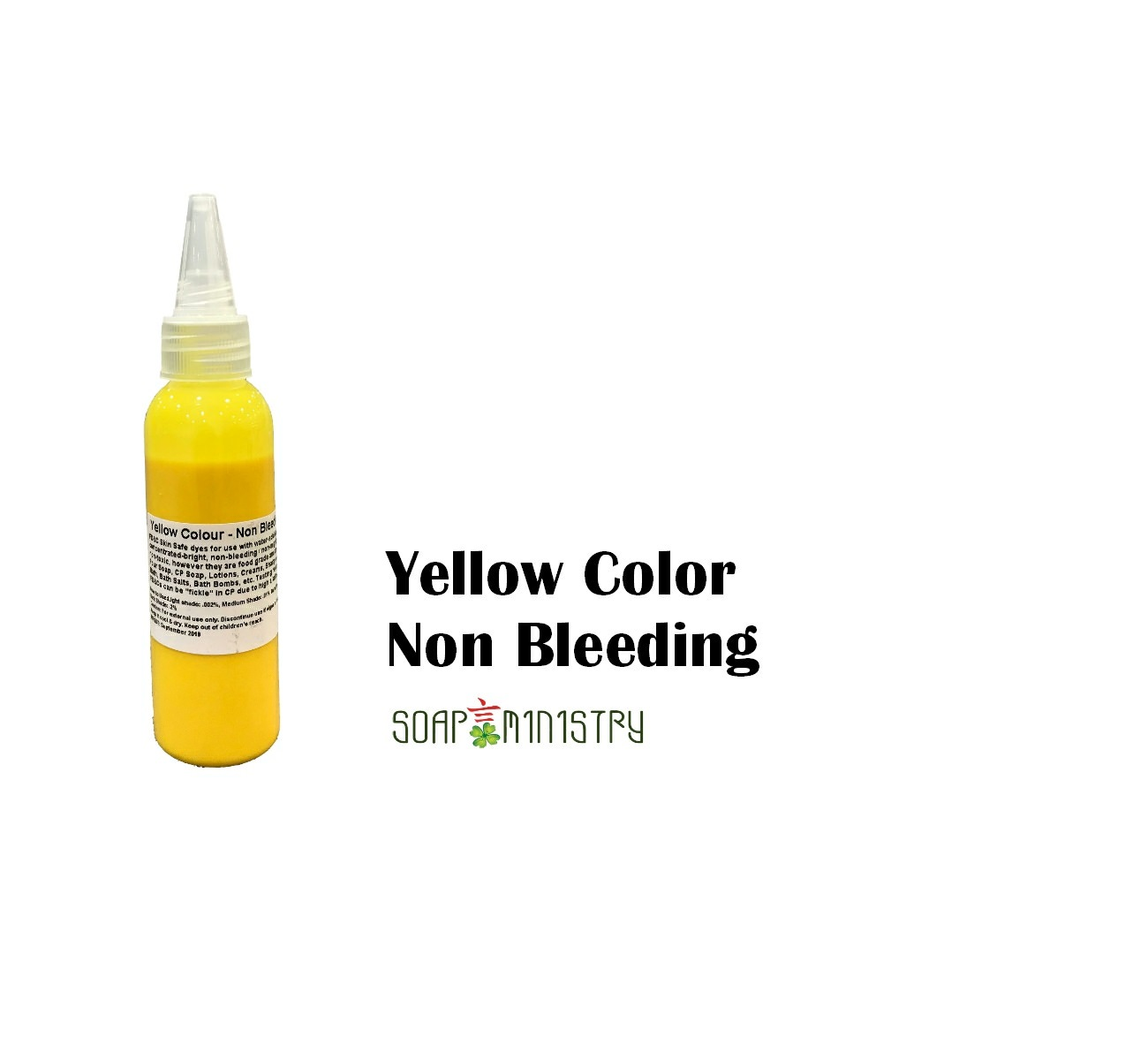 Not Fade Colour - Yellow 30ml