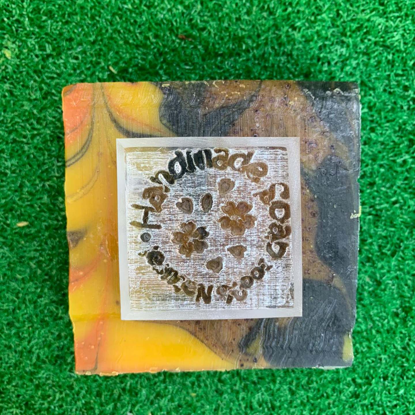 Handmade Soap 100 Natural Clover Acrylic Soap Stamp