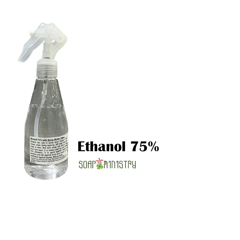 Ethanol 75% Alcohol 10