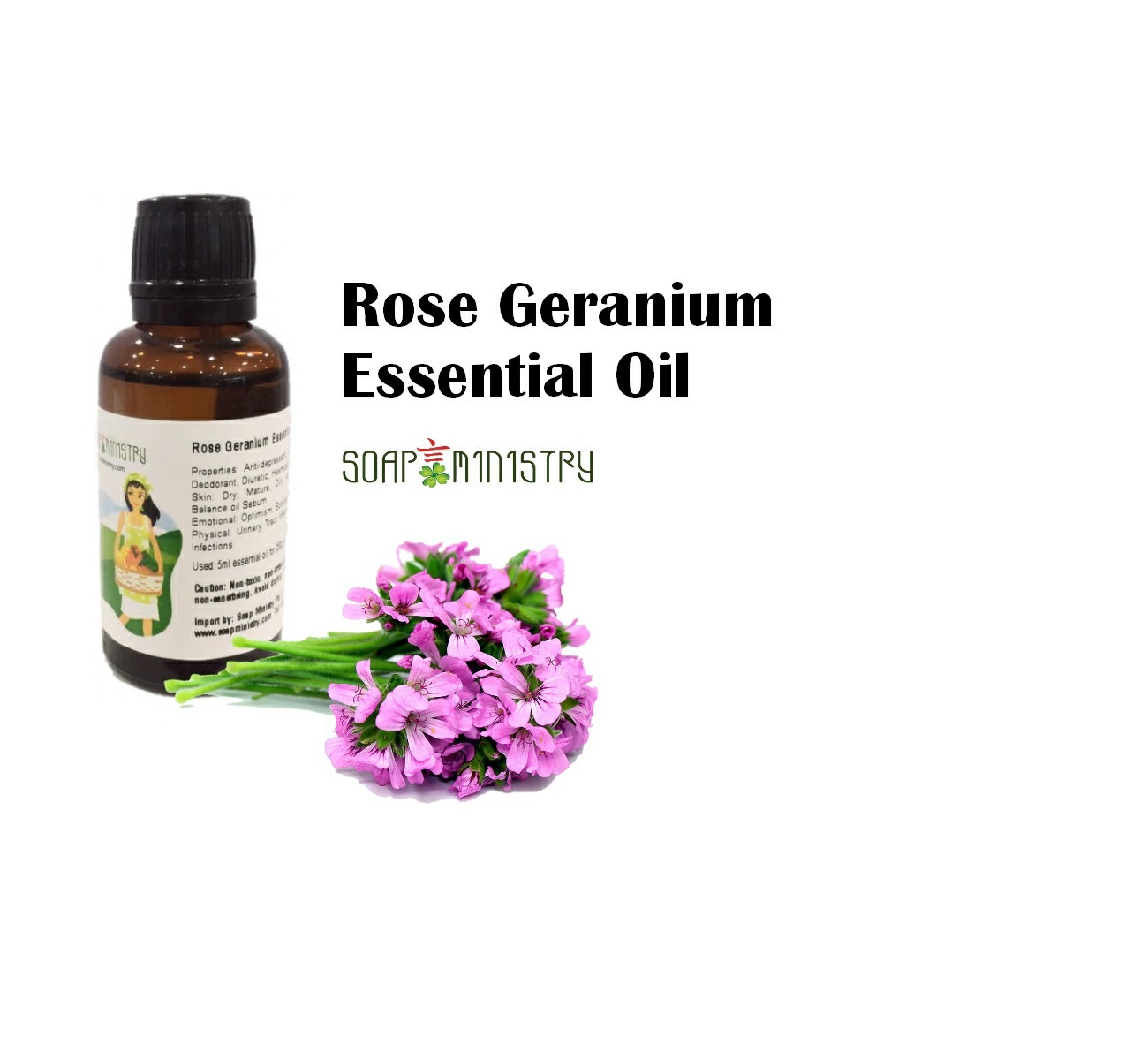 Rose Geranium Essential Oil 50ml