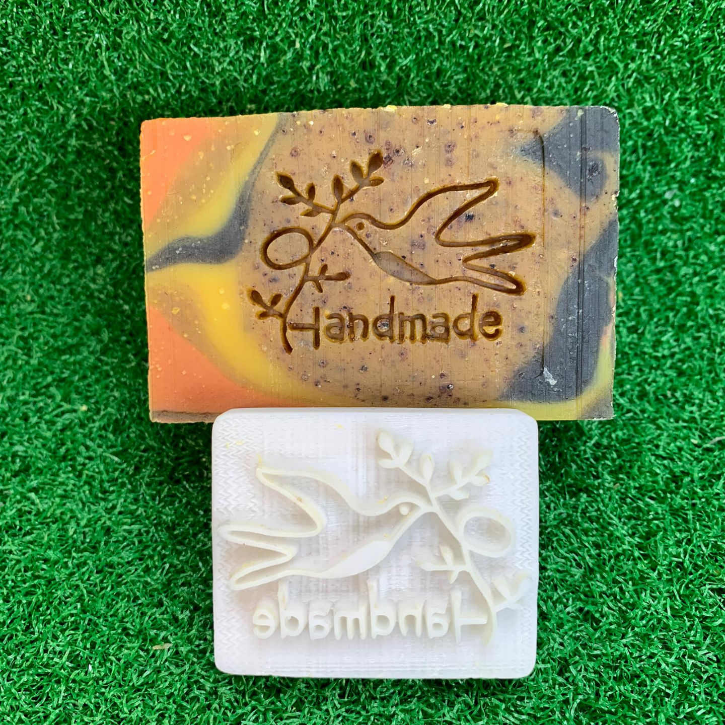 Dove Handmade Soap Stamp
