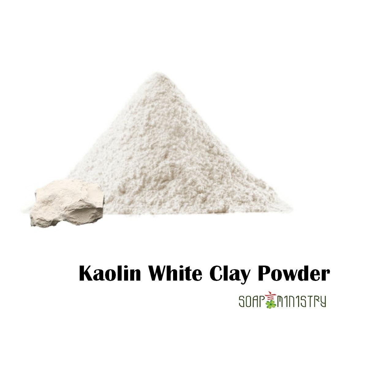 Kaolin white clay Powder 500g
