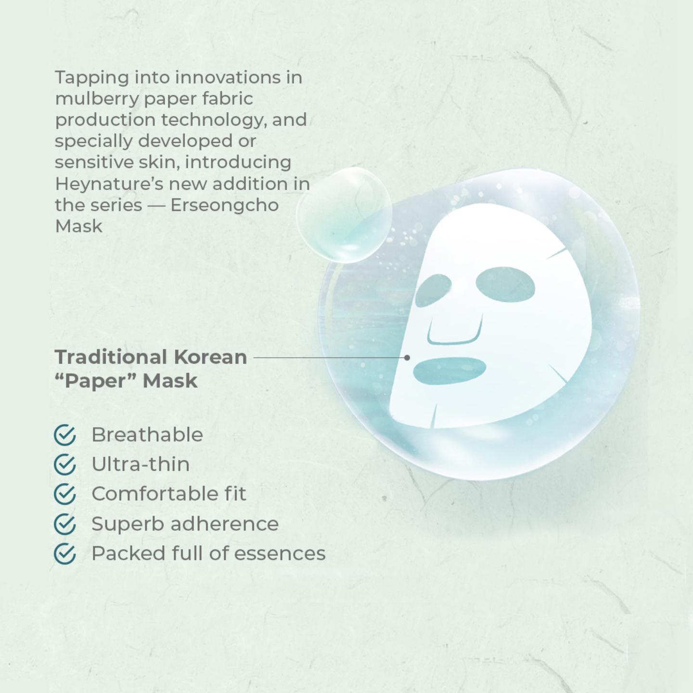 Heynature Erseongcho Mask - 23g