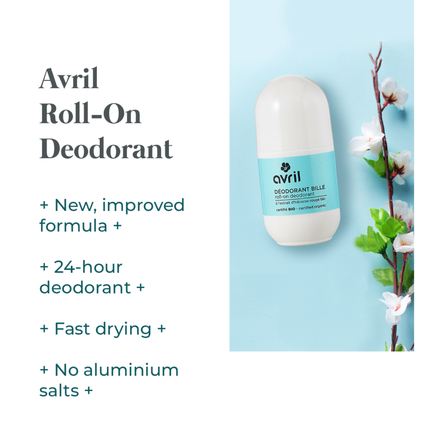 Avril Roll-on Deodorant - 50ml