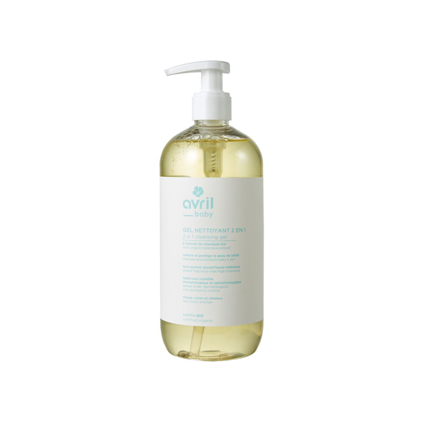 Avril Baby Organic Cleansing Gel - 500ml