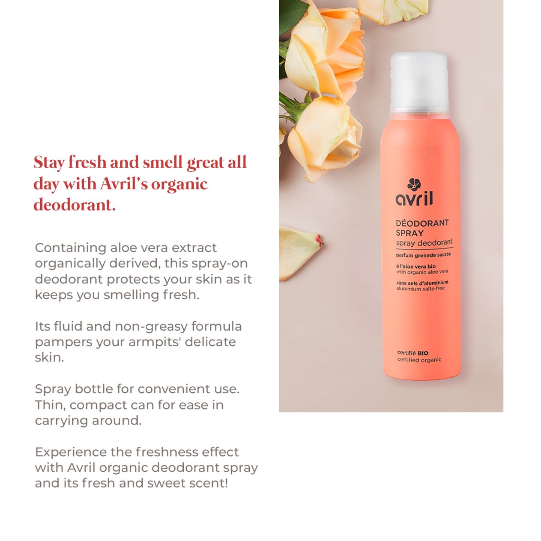 Avril Deodorant Spray - 150ml