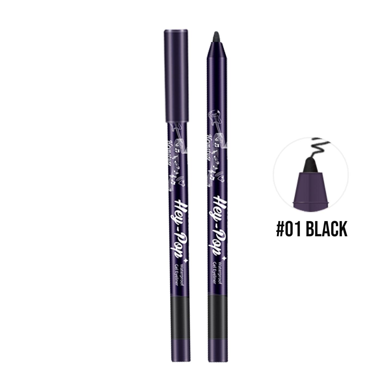 Heynature Hey-Pop Waterproof Gel Eyeliner No.1 Natural Black - 0.5g