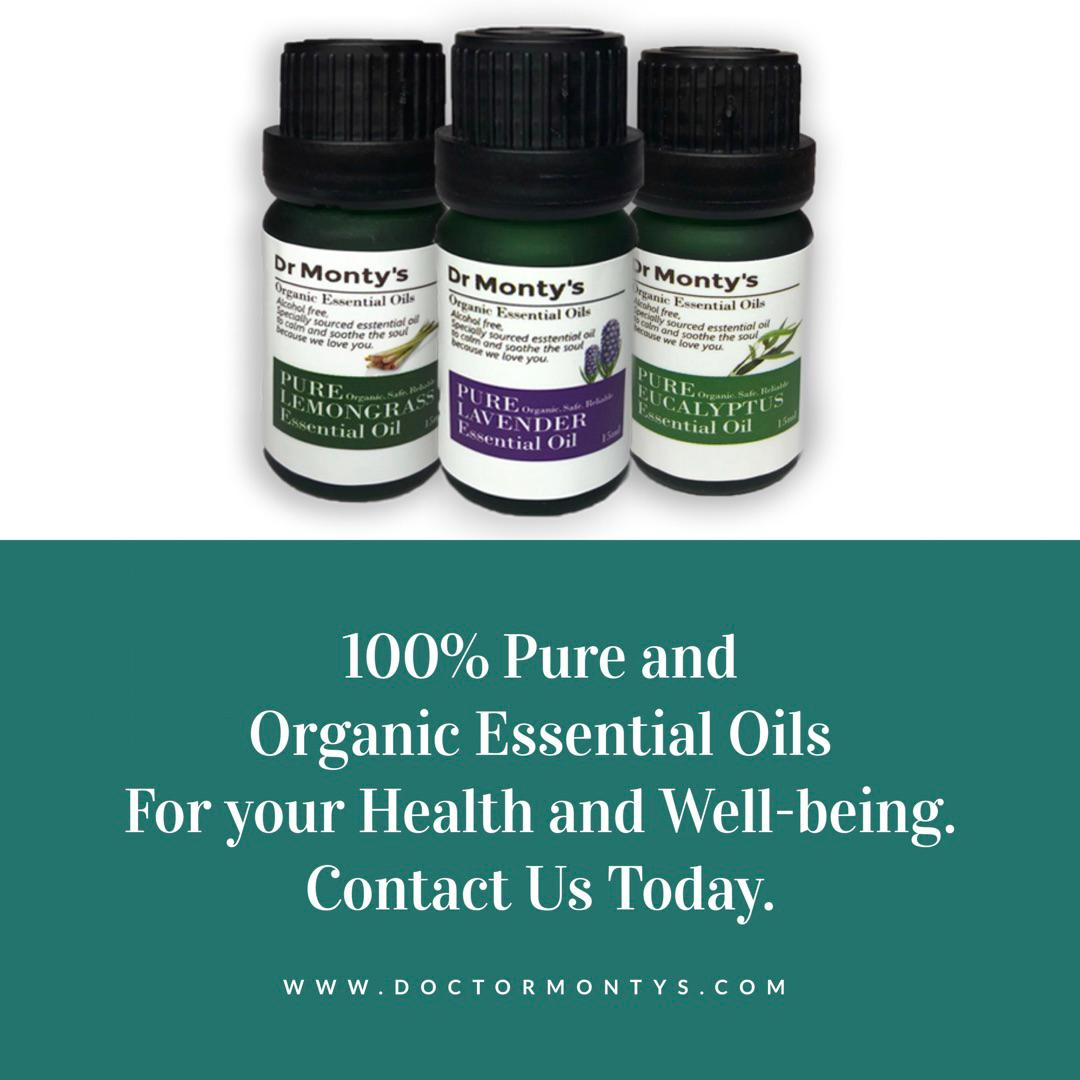 Dr Montys Pure Tea Tree Essential Oil - 10ml
