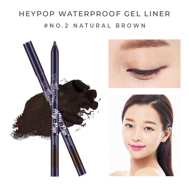 Heynature Hey-Pop Waterproof Gel Eyeliner No.2 Natural Brown