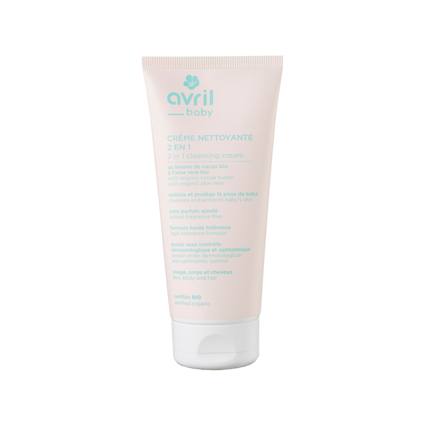 Avril Baby Organic Cleansing Cream - 200ml
