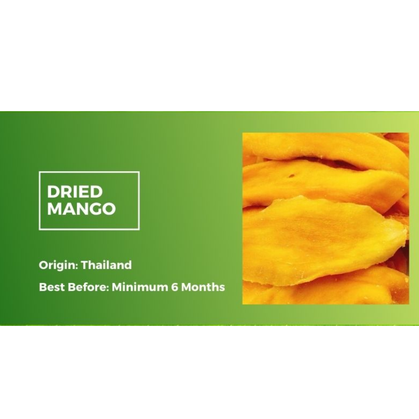 Dried Mango 500g x2 - Value Bundle 1+1