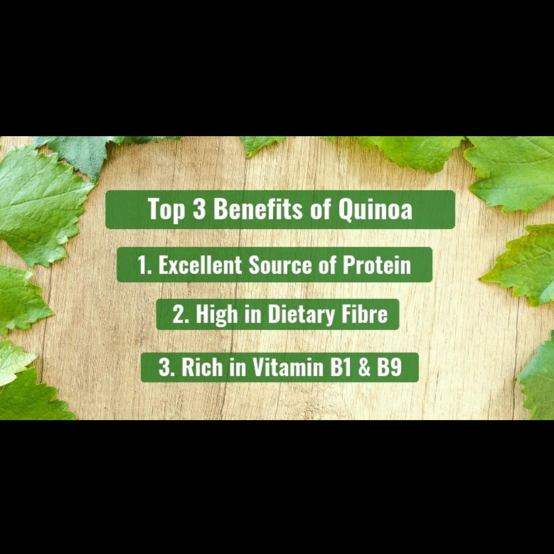 Organic Tricolour Quinoa 500g x2 - Value Bundle 1+1