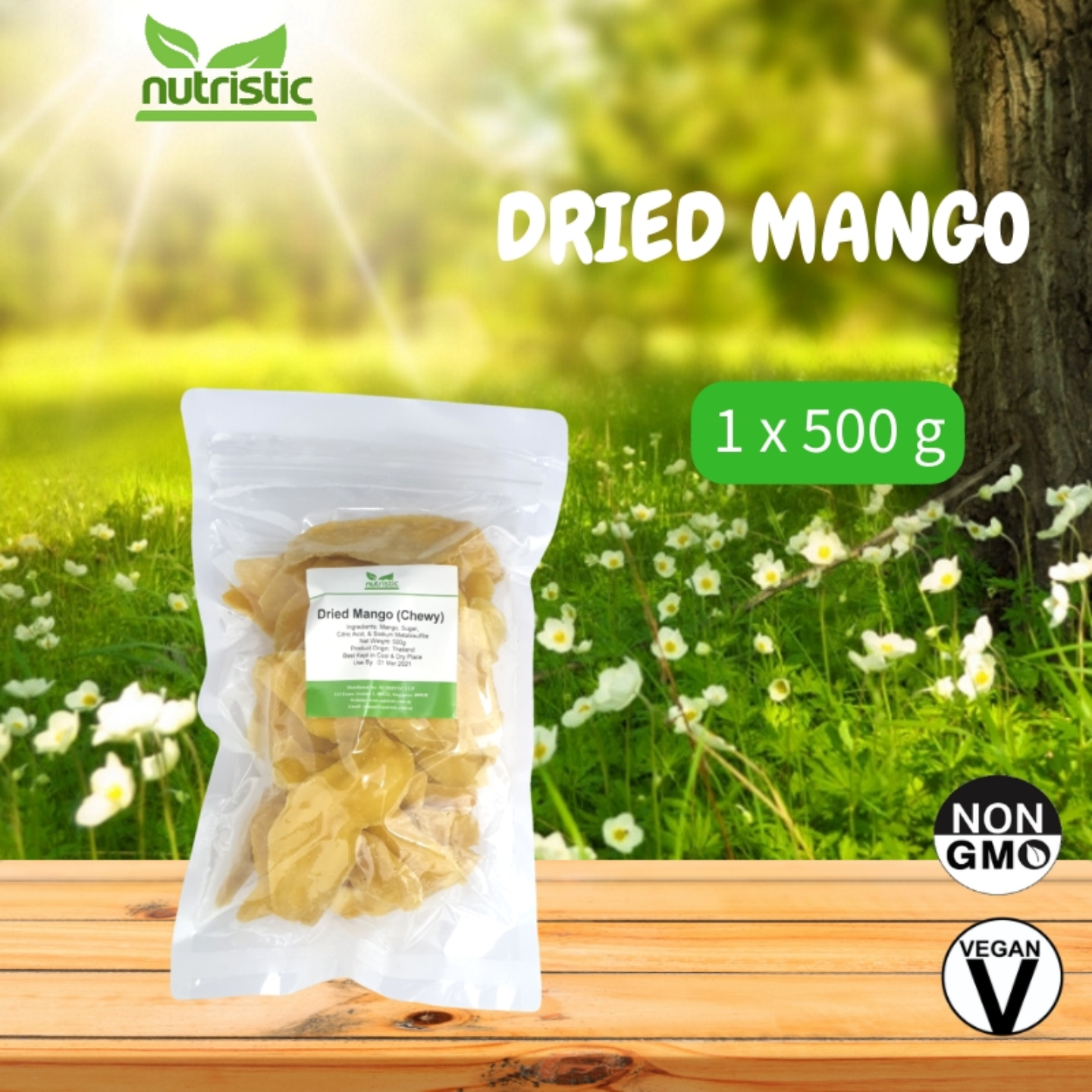 Dried Mango 500g - Value Pack