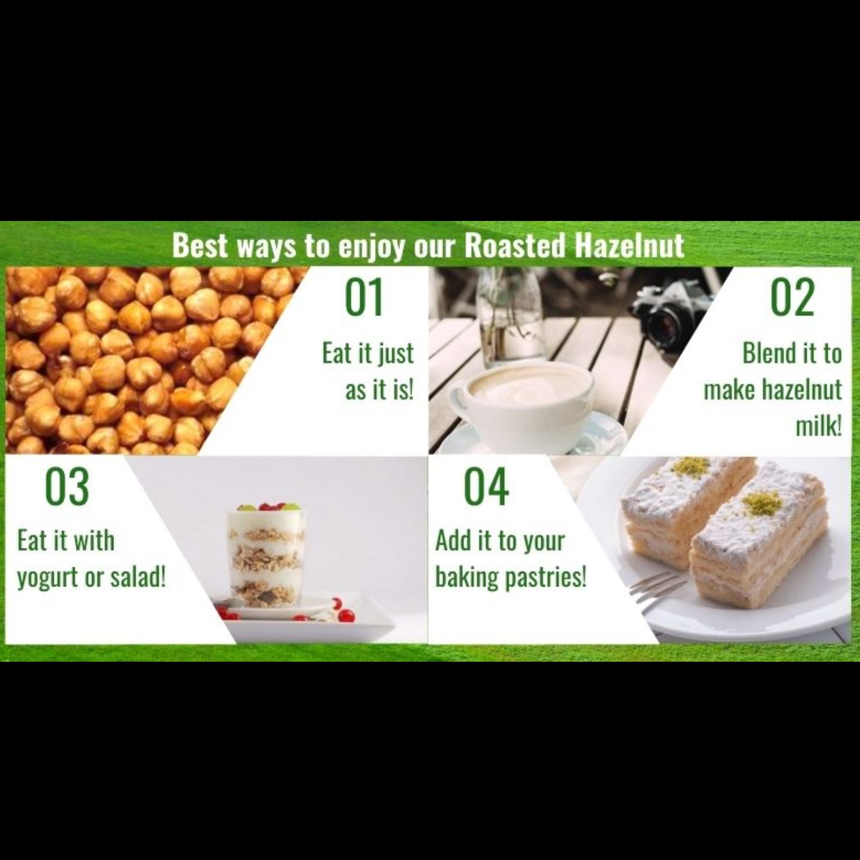 Roasted Hazelnut [500g] - Value Pack