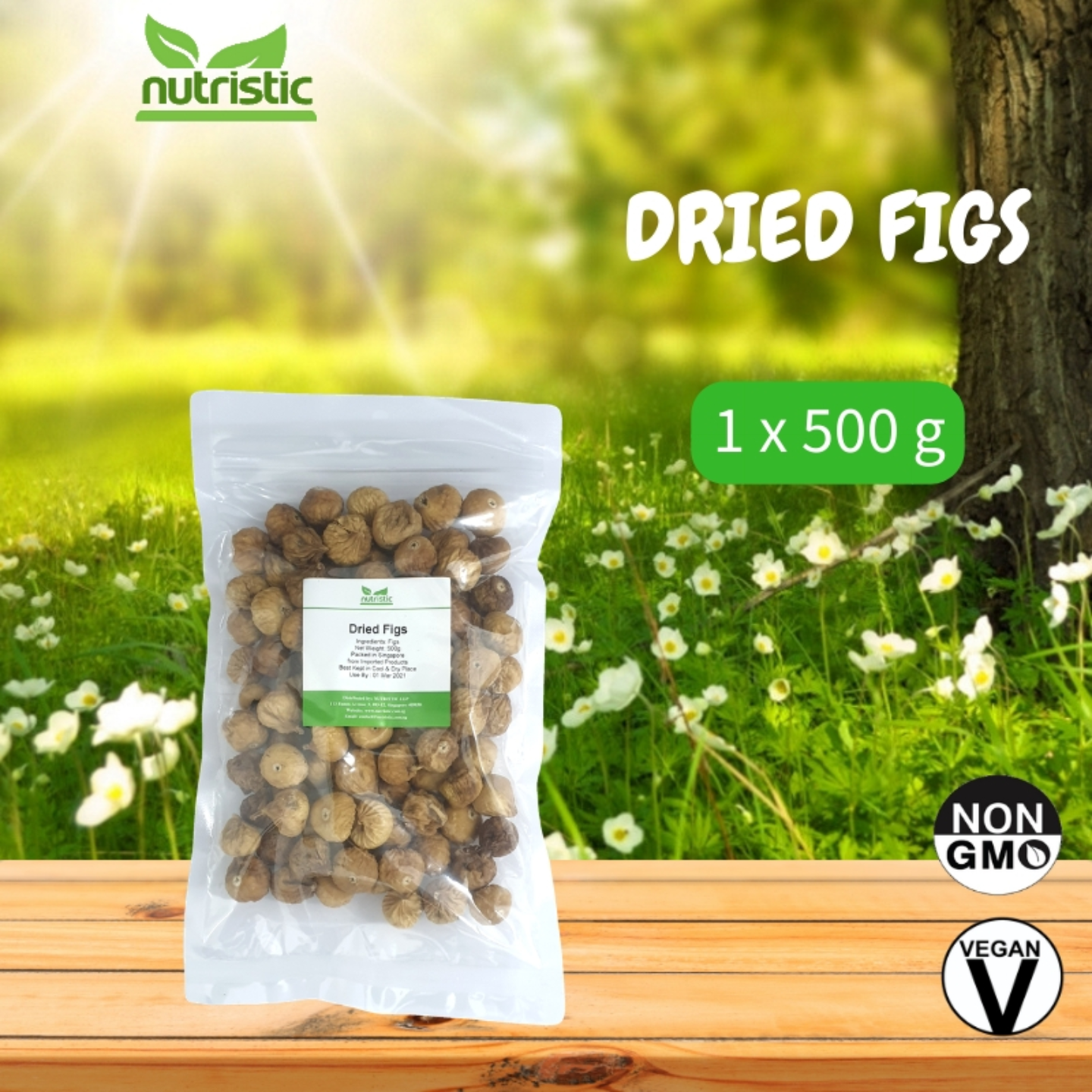 Dried Figs 500g - Value Pack