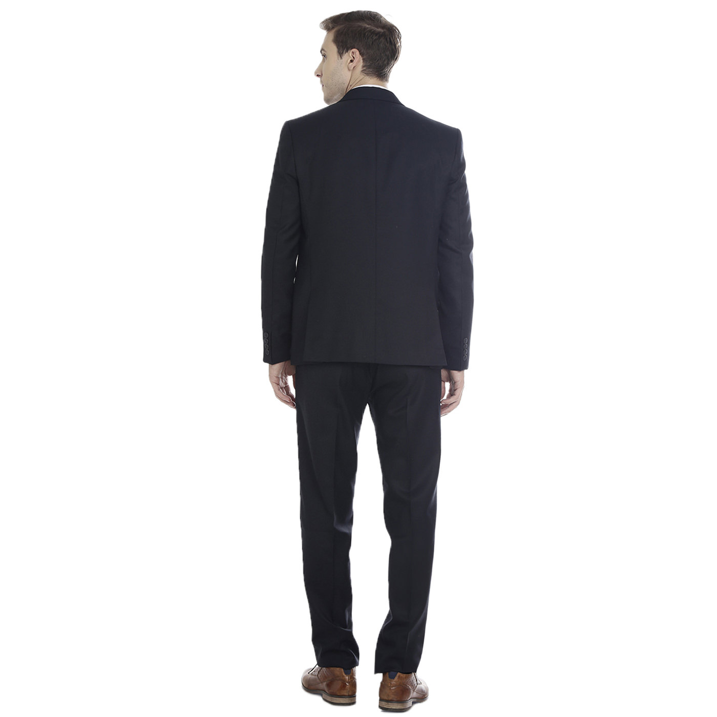 Double TWO Navy Slim Fit Mens Suit