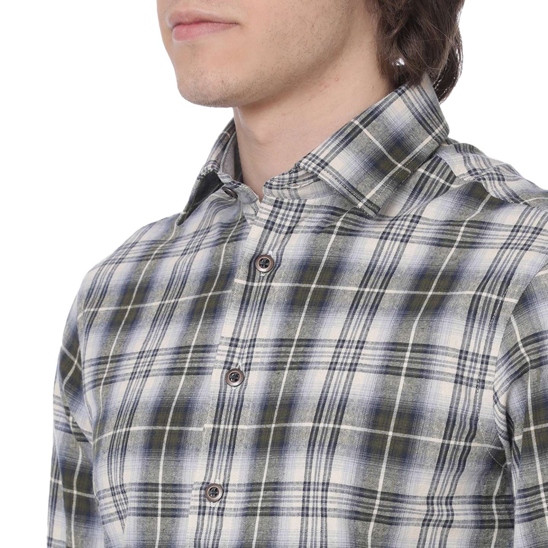 Bar Harbour Men's Woodland Check Casual Shirt