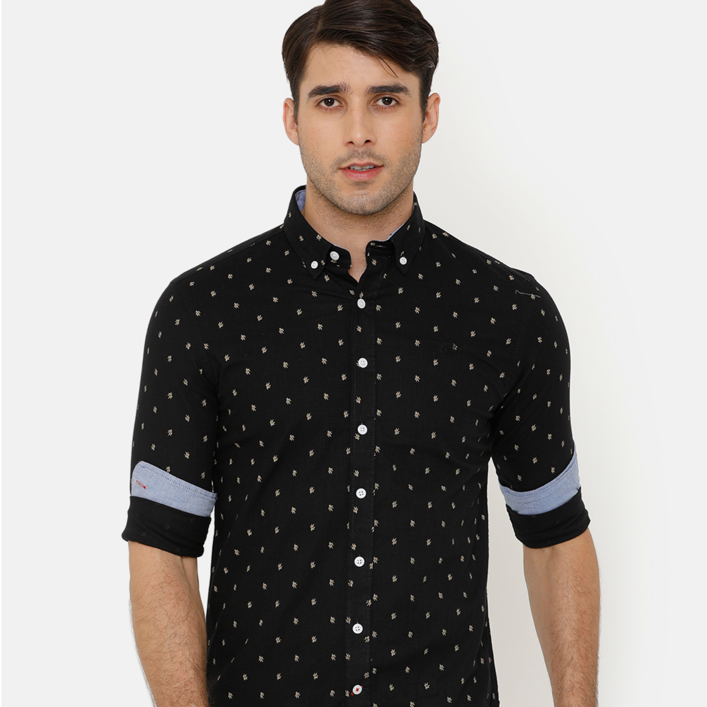 Bar Harbour Black Printed Casual Shirt