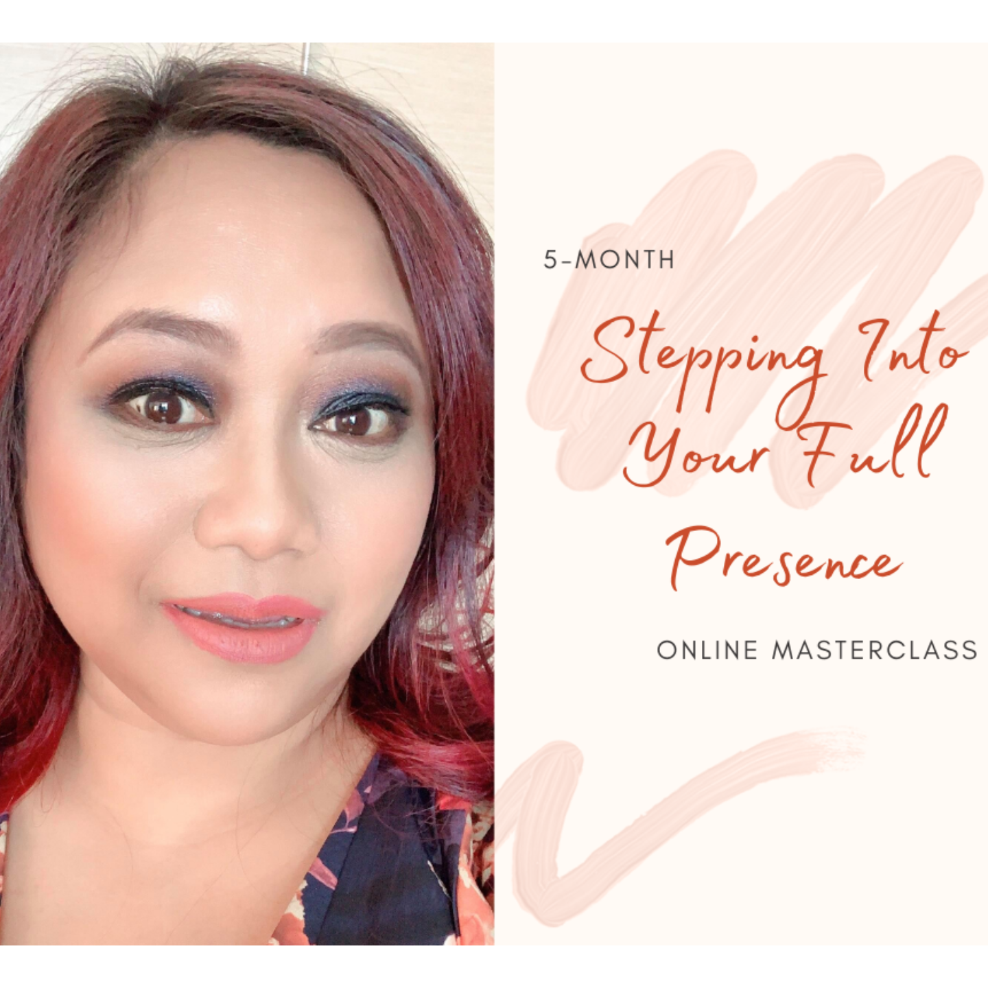 5-Month online Masterclass Stepping Into Your Full Presence