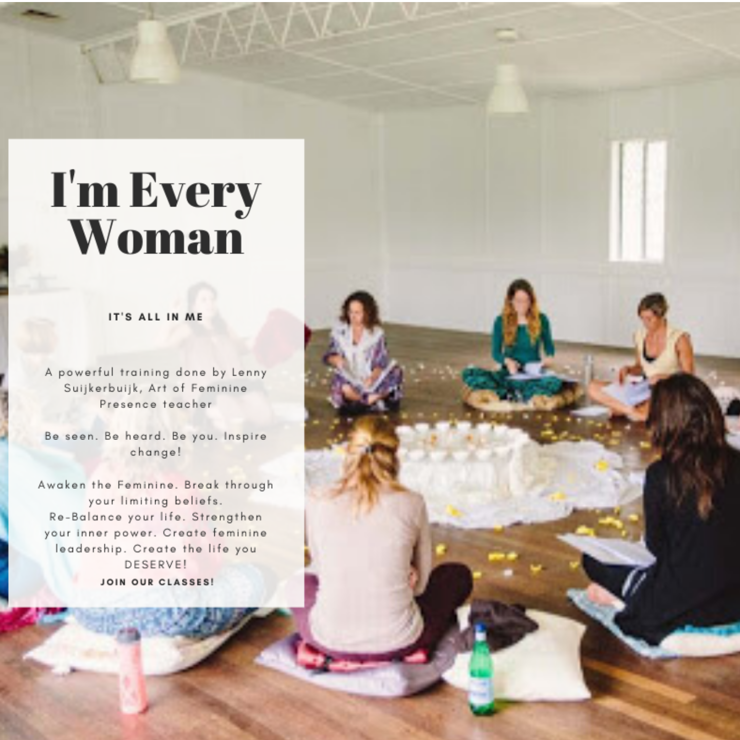 5-Week live training Im Every Woman Singapore