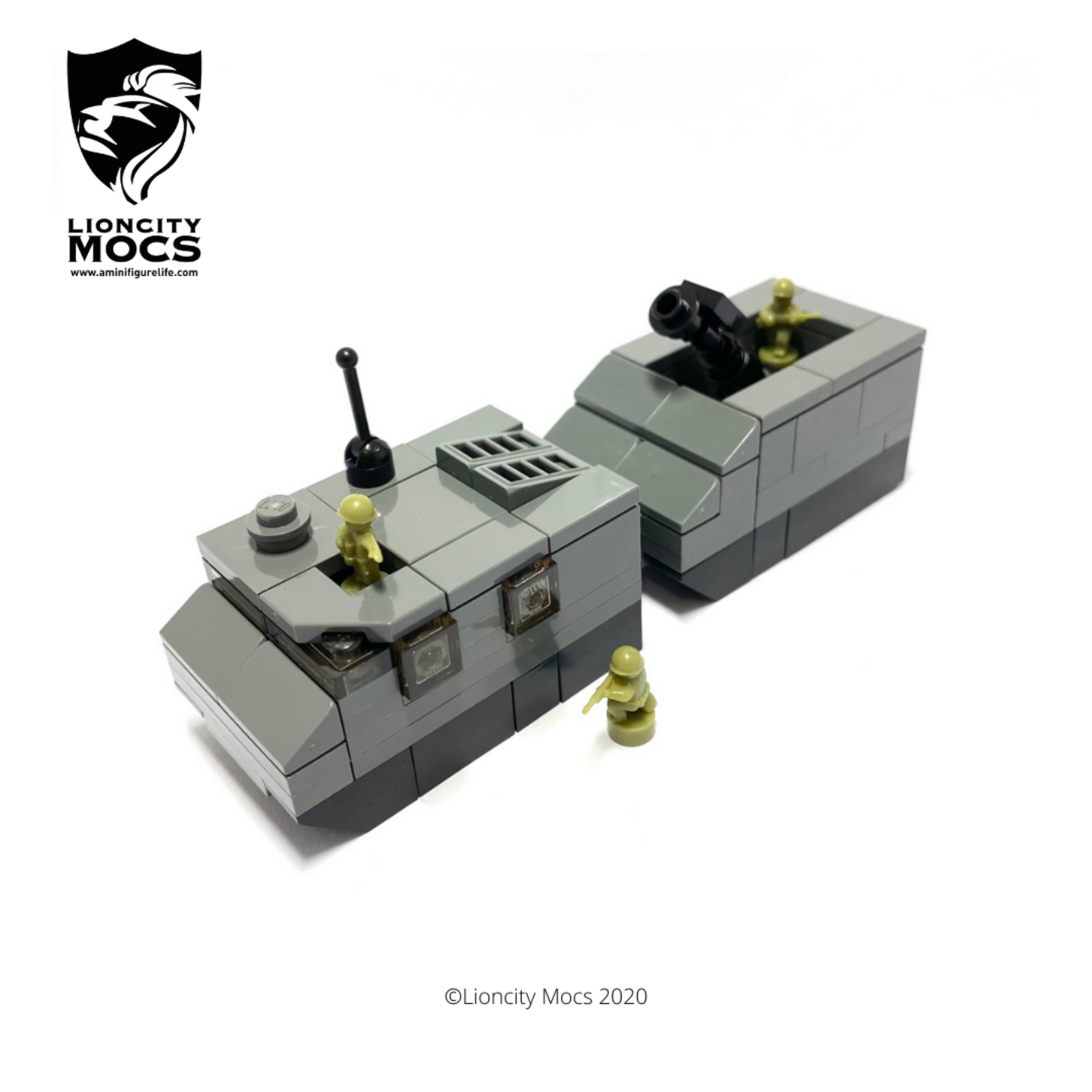Bronco ATTC with Motar - Mini Building Kit SG1004