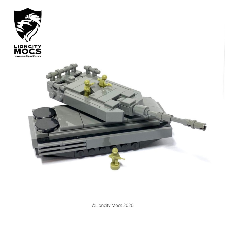 Leopard 2SG - Mini Building Kit SG1019