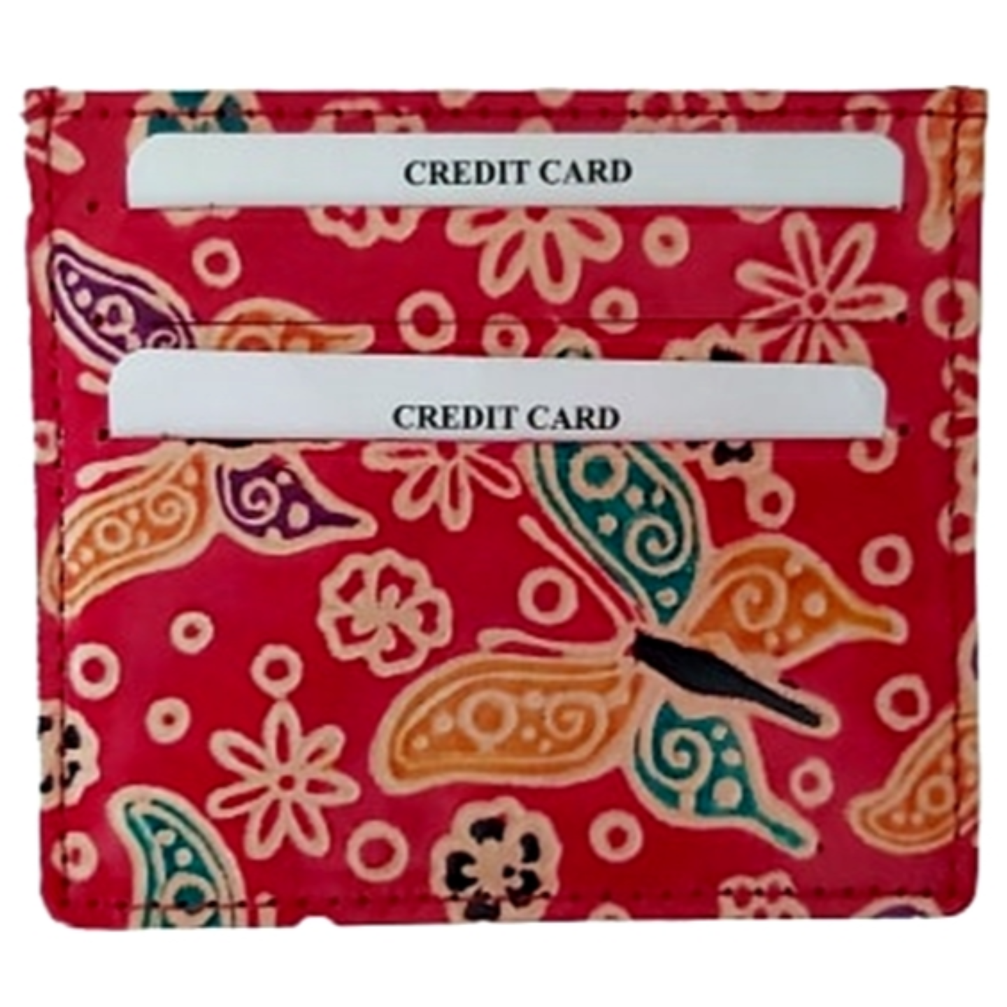 Eco Trends Card Holder - Red