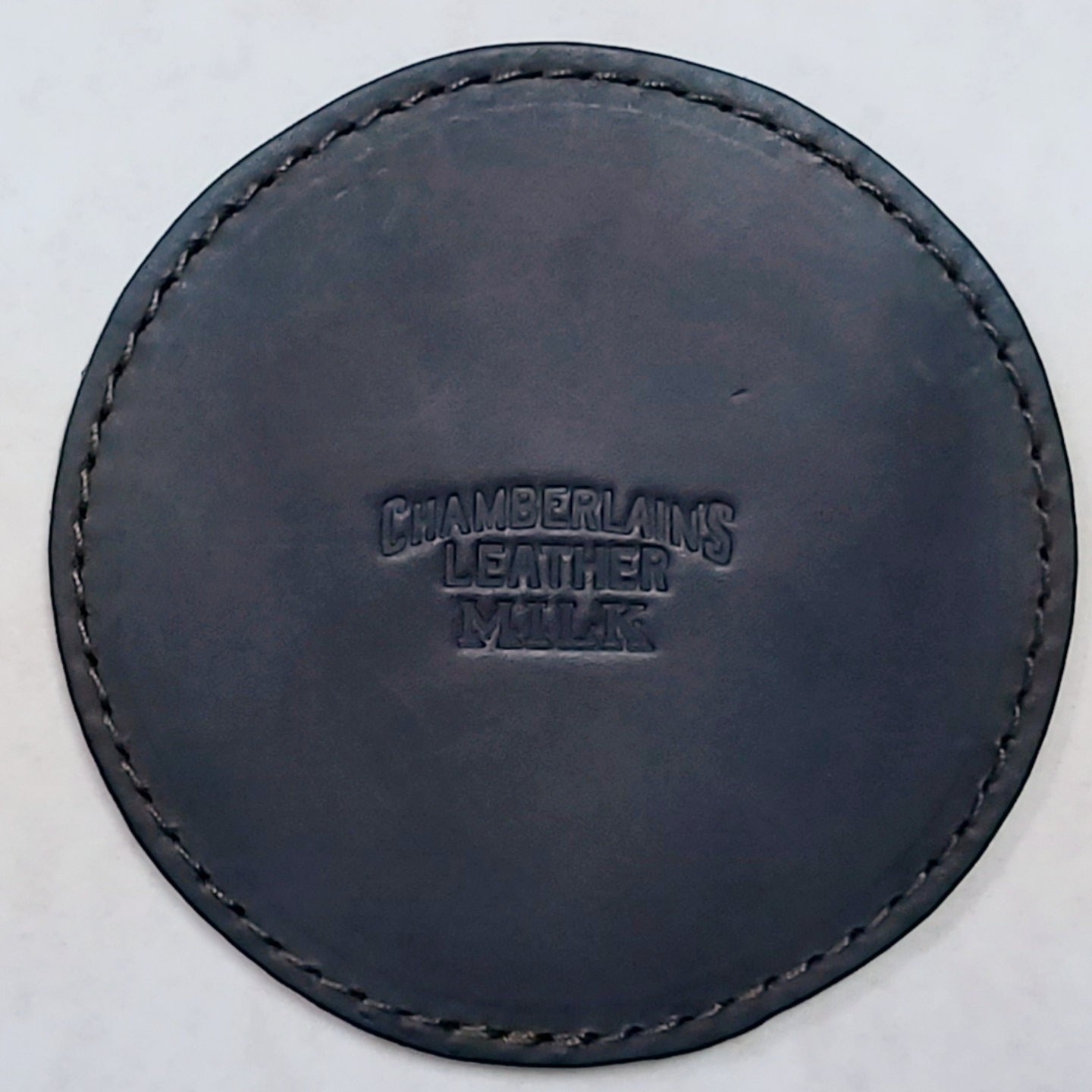 Chamberlains Leather Coasters