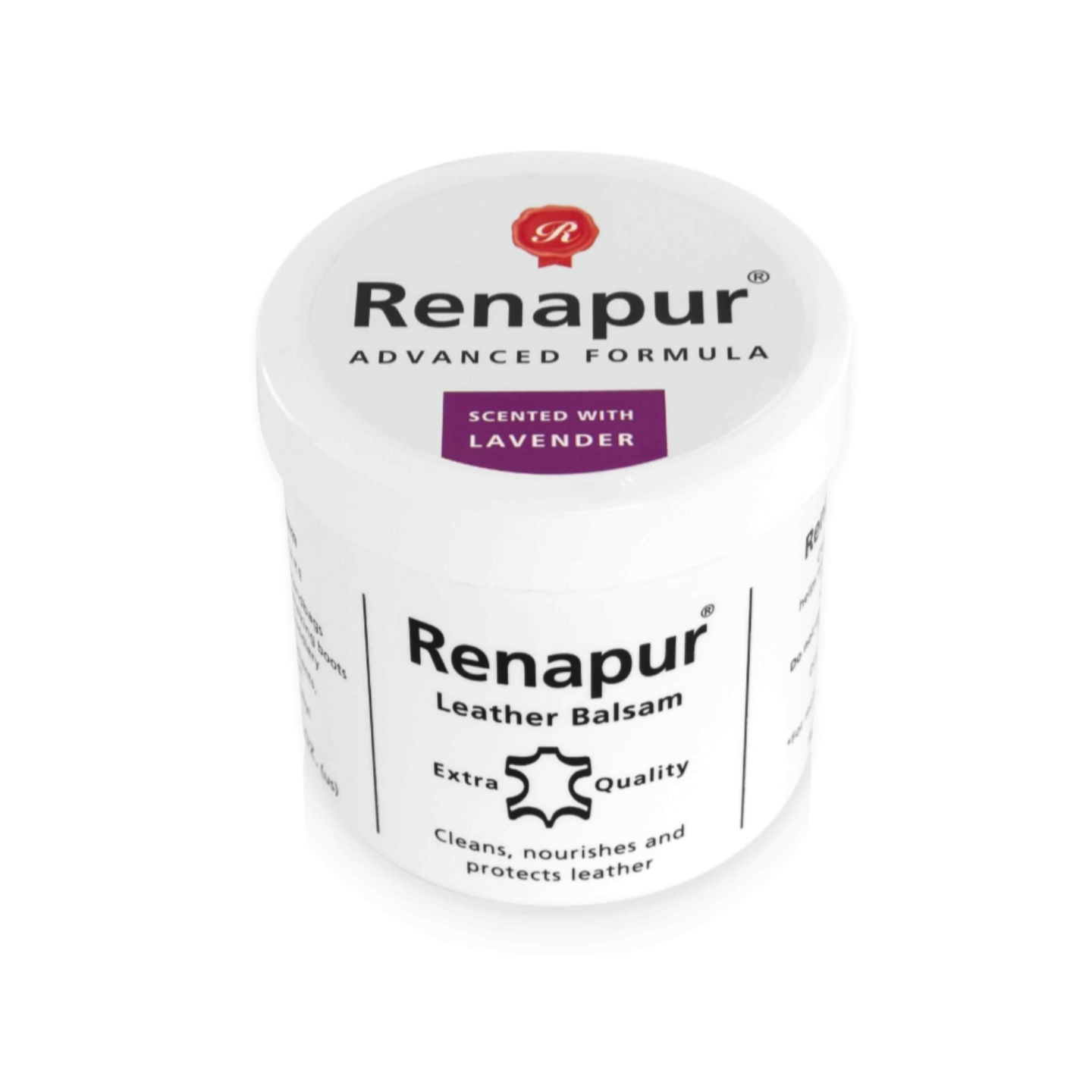 Renapur Leather Balsam 200ml - Scented with LAVENDER