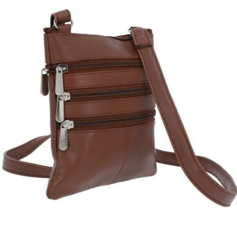 Mini Sling & Crossbody Style Bag - 1027 Colour Tan