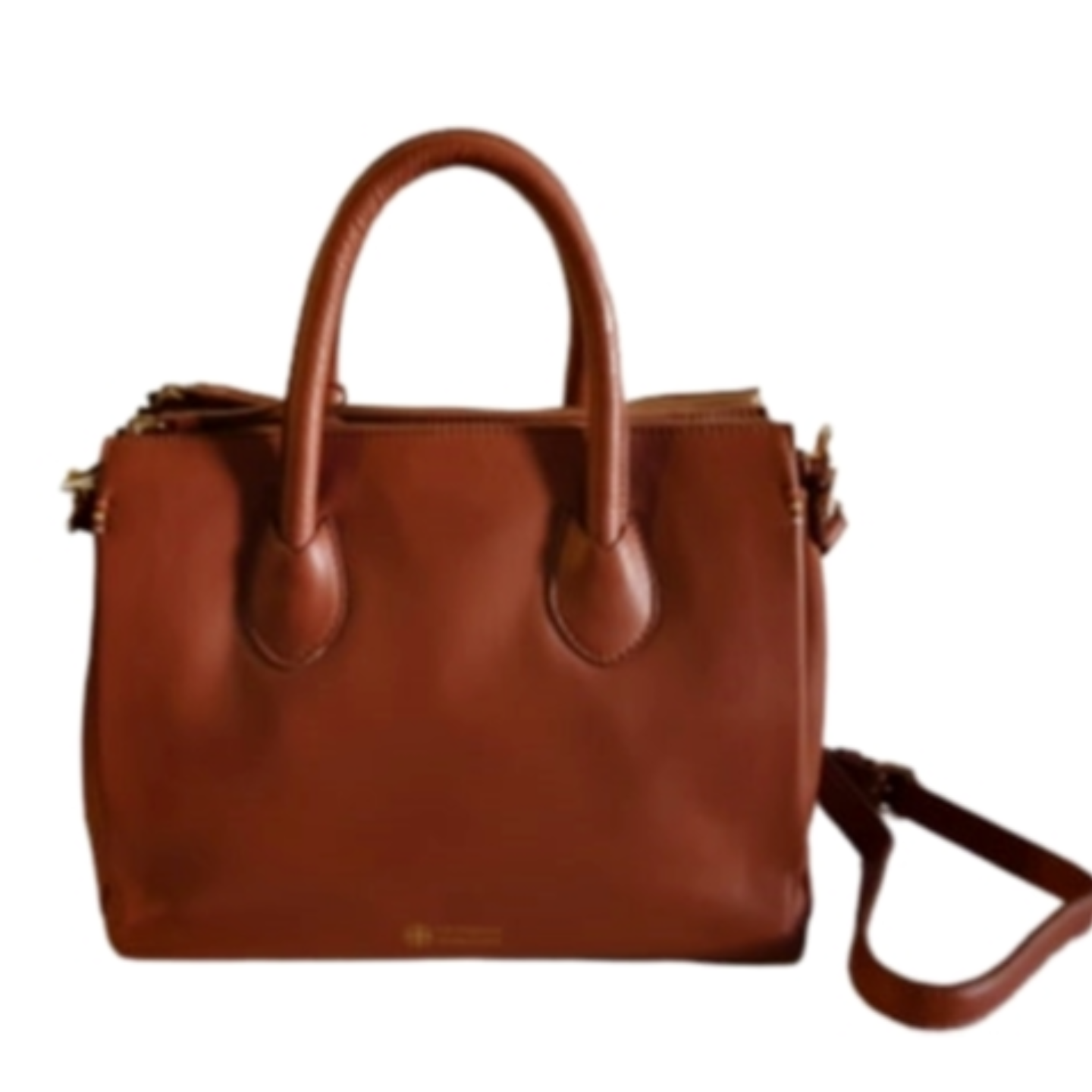 Kyoto Cognac Cross body Satchel Handbag