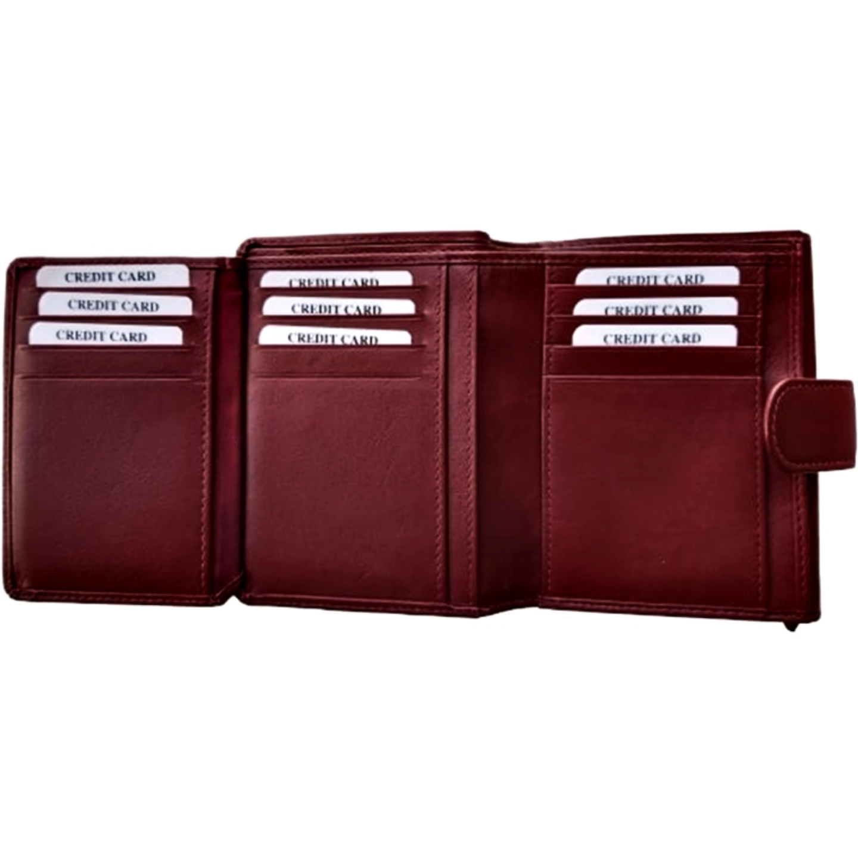 Fiona Small Wallet Colour Maroon