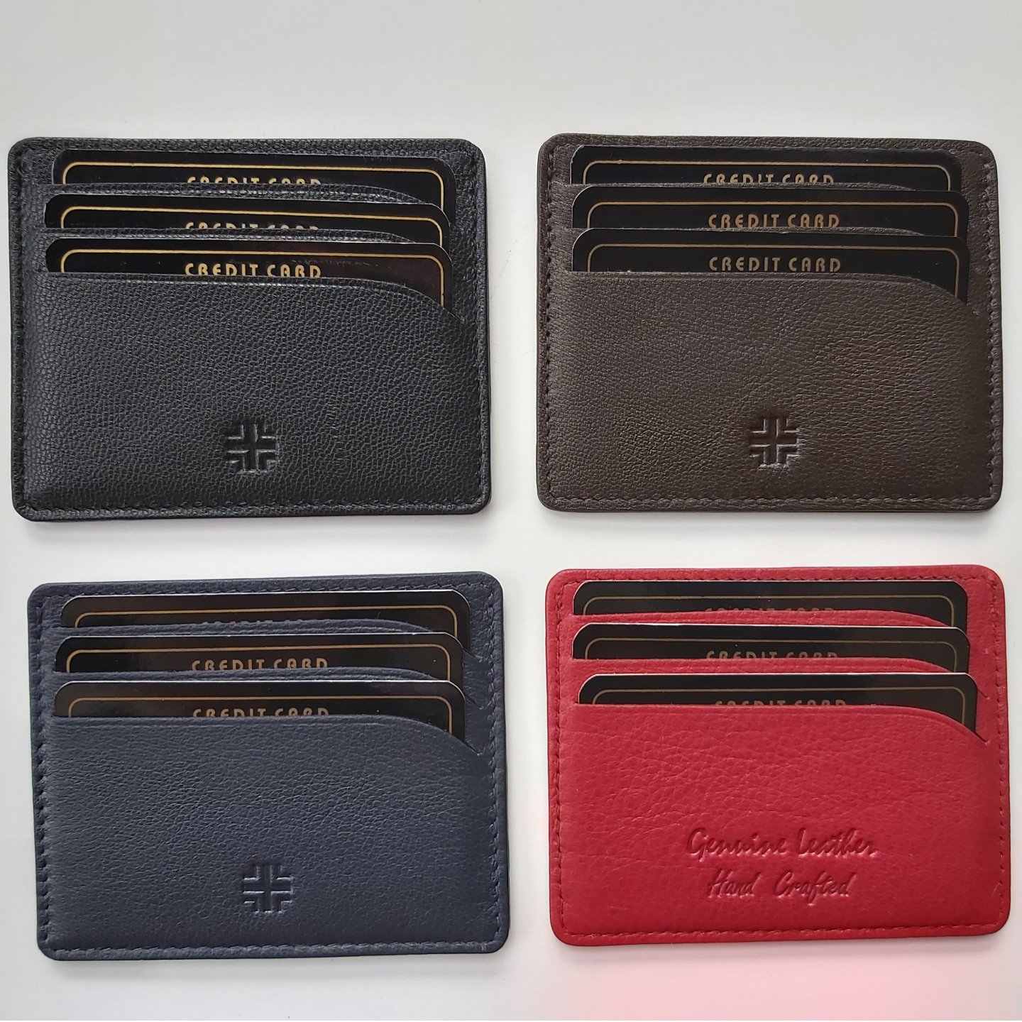Set of 4 Card Holders