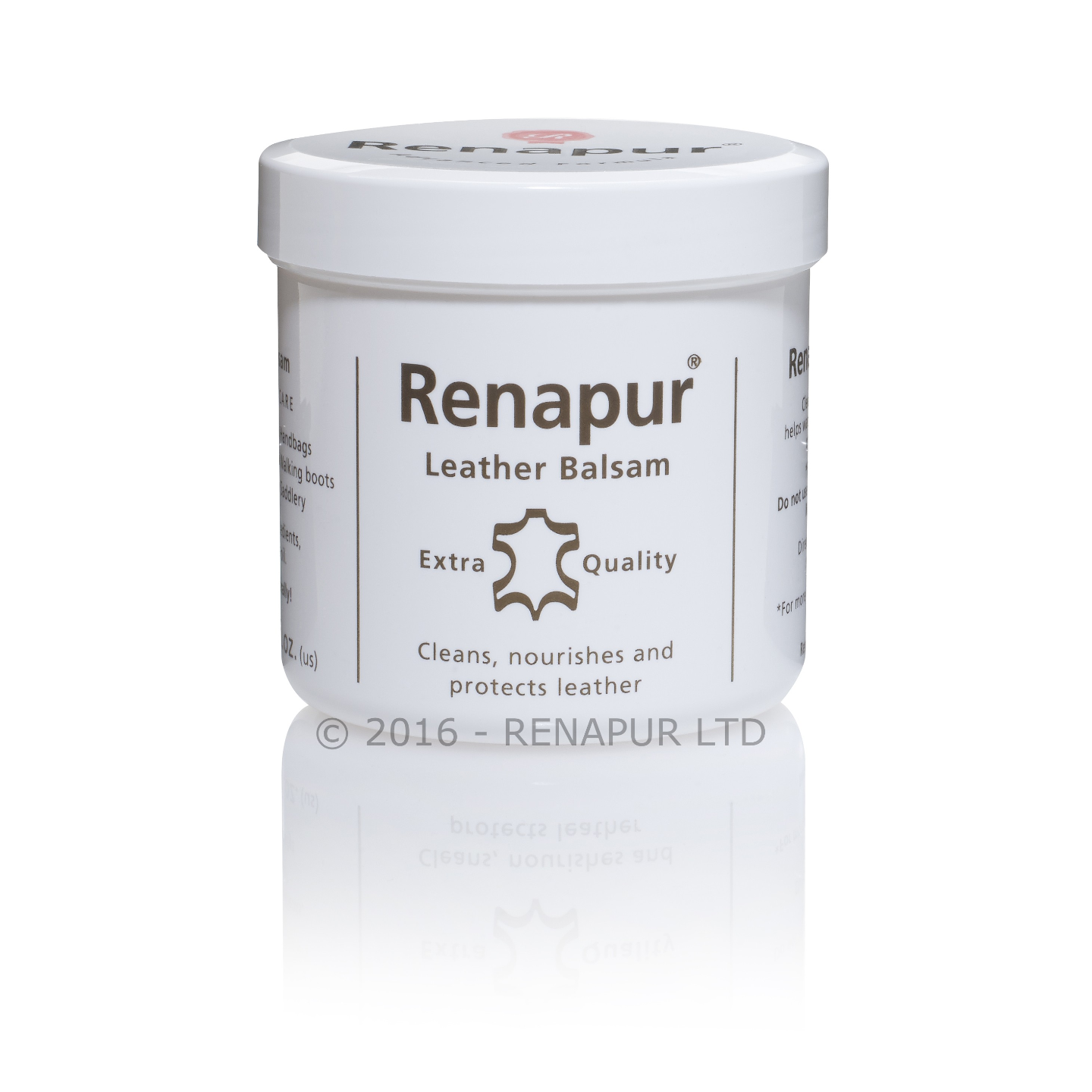 Renapur Leather Balsam 200 ml - Original - Cleaner, Conditioner, Water Repellent - All Leathers including Shoes, Handbags, Garments, Furniture, Automotive Leathers - From UK